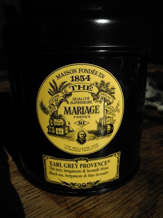 Mariage Frer tea tin