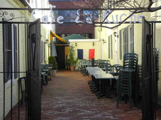 Garden of Cafe La Ruche