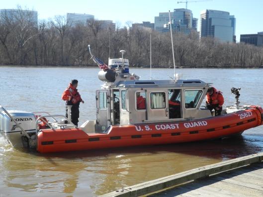 Coast Guard Boat on the Potomac