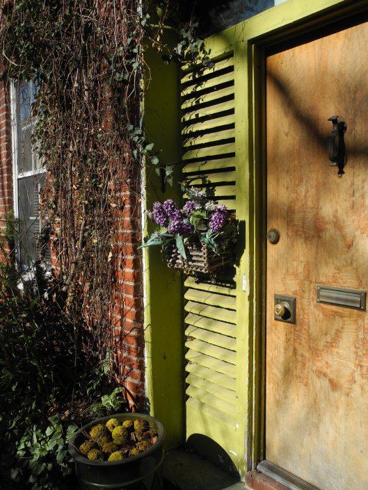 a Georgetown door