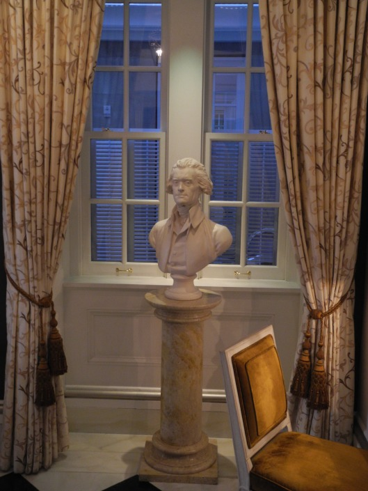 bust of Jefferson