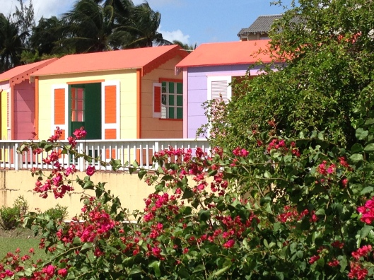 Chattel houses in Barbados